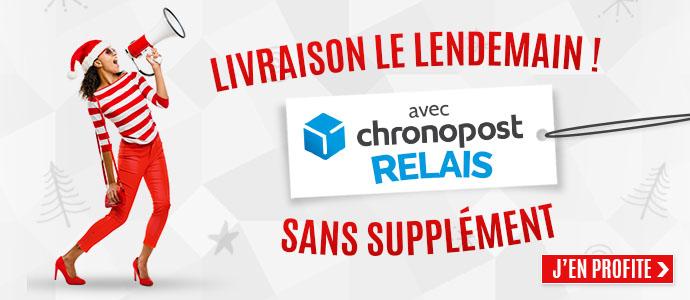 Livraison Chronopost Relais 24h