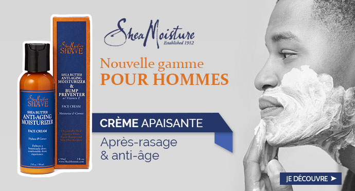 Crème apaisante hommes SHEA MOISTURE