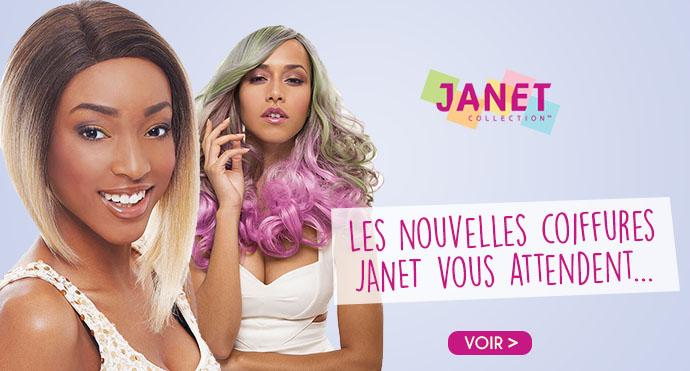 Nouvelles coiffures JANET
