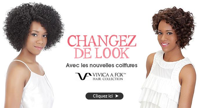 Nouvelles coiffures VIVICA FOX