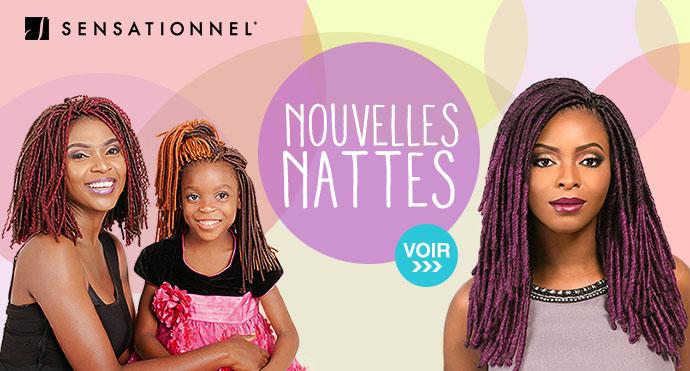 Nouvelles nattes SENSATIONNEL