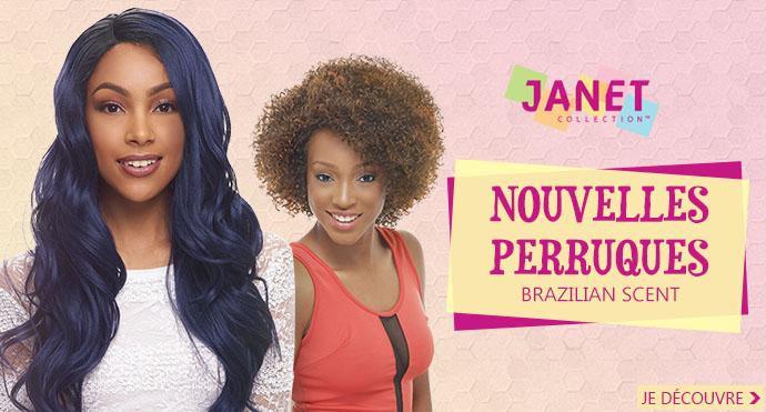 Nouvelles perruques JANET