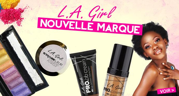 Nouvelle marque de maquillage LA GIRL