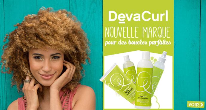 Nouvelle marque de soins DEVA CURL