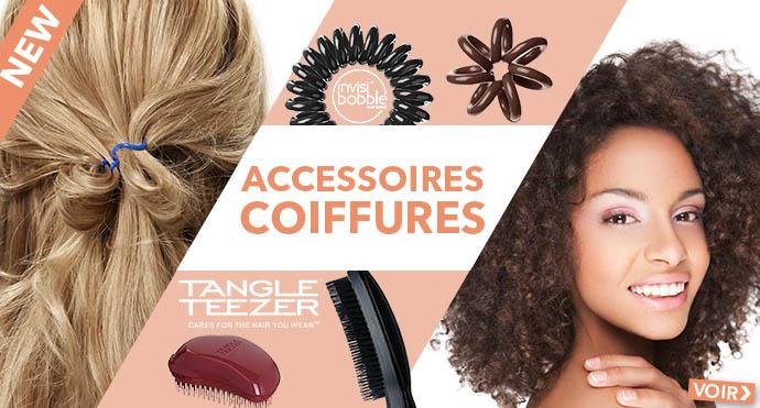 Nouveaux accessoires TANGLE TEEZER et INVISIBOBBLE