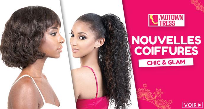 Nouvelles coiffures MOTOWN TRESS