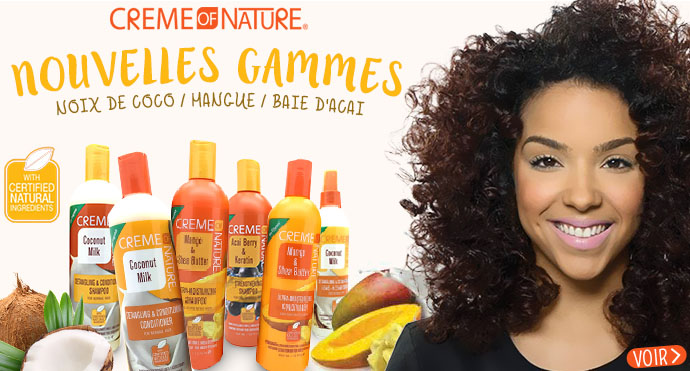 Nouvelles gammes CREME OF NATURE