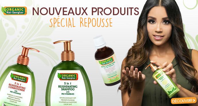 Nouveaux soins repousse Organic Hair Energizer