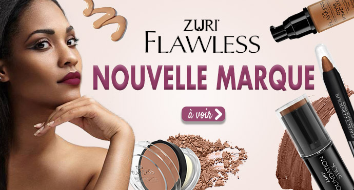 Nouvelle marque de maquillage ZURY FLAWLESS