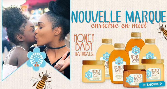 Nouvelle marque de soins HONEY BABY NATURALS