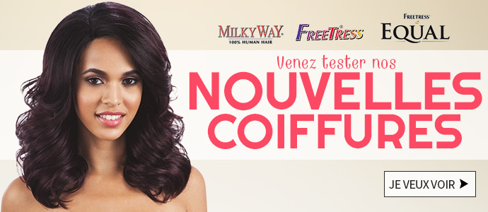 Nouvelles coiffures MILKYWAY FREETRESS EQUAL