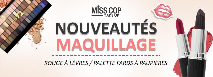 Nouveautés maquillage MISS COP