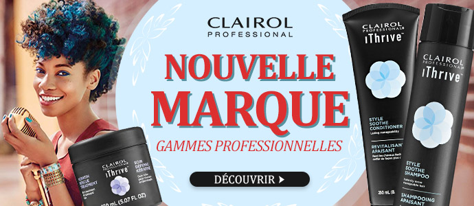 Nouvelle marque CLAIROL ITHRIVE