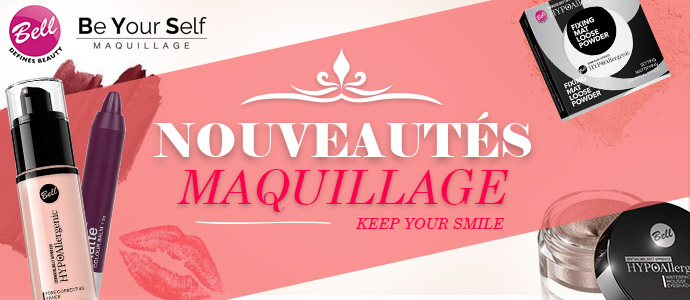 Nouveautés maquillage BE YOUR SELF